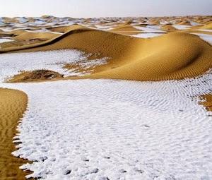 Çöle Yağan Kar Gerçek midir yoksa Serap mıdır?