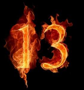 13 sayı