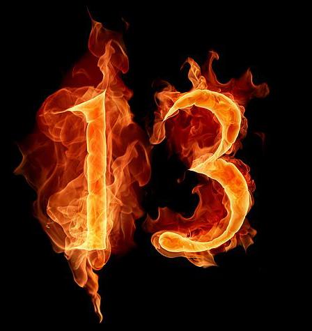 13 Sayısı Neden Uğursuzdur?