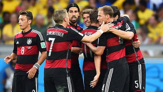 Almanya, Brezilya'yı 7-1 Yenerek Finale Çıktı…