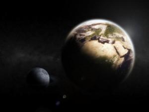 ay 300x225 Ay Yörüngesinden Çıksa ve Dünyaya Çarpsa Ne Olur?