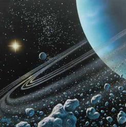 Güneşin Etrafındaki Tüm Gezegenler Aynı Yönde Dönerken , Uranüs ve Venüs Neden Onların Aksi Yönde Dönerler?