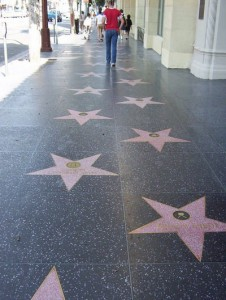 şöhret yıldızı