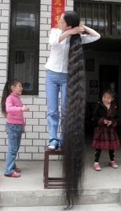 çinli uzun saç